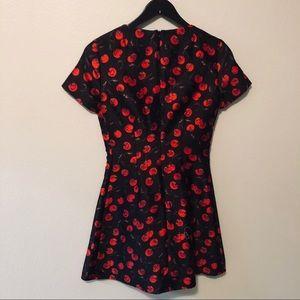 Vintage Dresses - Vintage Maggy Frances Cherry Dress